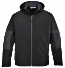 Softshellová bunda TECHNIK TRIPLE DRY s kapucí černá velikost XL