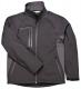 Softshellová bunda TECHNIK DUO černo/šedá velikost XXL