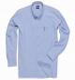 Košile Oxford pánská dlouhý rukáv středně modrá velikost 40