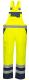 Kalhoty DUO laclové nepromokavé vysoce viditelná žluto/modrá velikost XXL