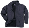 Bunda ARBROATH fleece podšívka tmavě modrá velikost XL