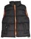 Vesta SEATTLE broušený polyester zateplená černo/oranžová velikost M