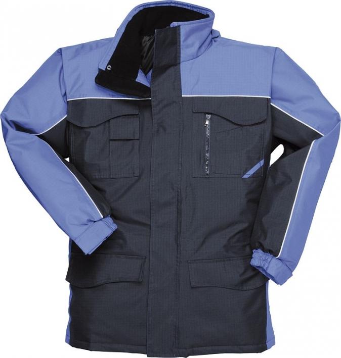 Bunda RS DUO TONE parka tmavě modro/středně modrá velikost XL