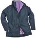 Dámská bunda ELGIN 3 v 1 dámská tmavě modro/fialová velikost M