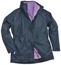 Dámská bunda ELGIN 3 v 1 dámská tmavě modro/fialová velikost L