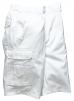 Motérkové kraťasy BOLTON PAINTERS bílé velikost XL