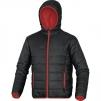 Bunda ONTARIO DOBY nylon kapuce zateplená červeno/černá velikost XL