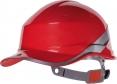 Ochranná průmyslová přilba BaseBall Diamond V reflexní pruhy červená