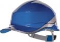 Ochranná průmyslová přilba BaseBall Diamond V reflexní pruhy středně modrá