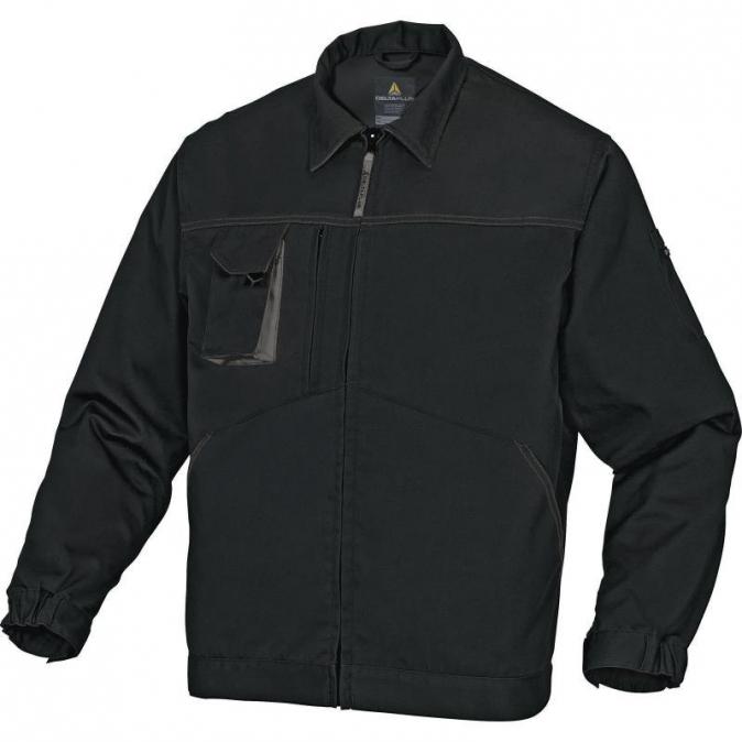 Montérková blůza MACH2 raglánové rukávy černo/šedá velikost XXL