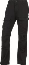 Montérkové kalhoty MACH ORIGINALS do pasu černé velikost XL