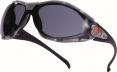 Brýle PACAYA SMOKE odolnost proti poškrábání tónované šedo/černé