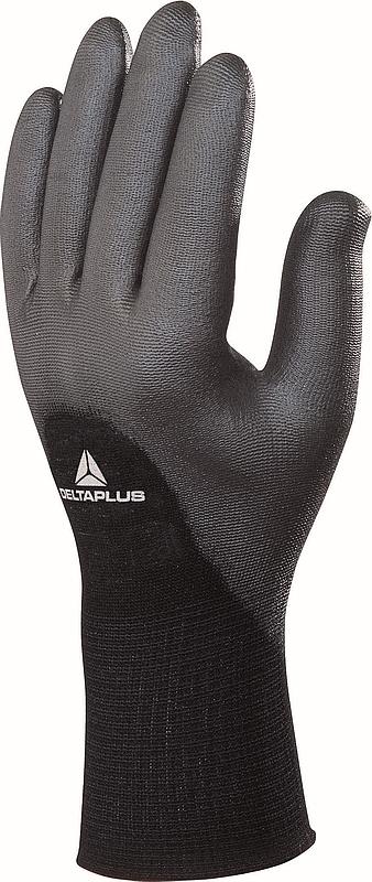 Rukavice VENITEX VE703 bezešvý nylonový úplet 3/4 povrstvený polyuretanem černé velikost L