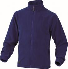 Mikina VERNON polar fleece zapínání na zip královská modrá velikost L