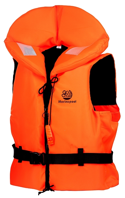 Záchranná plovací vesta BUOYANCY 100N oranžová velikost L pro 70-90 kg