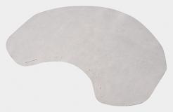 Ochranná týlní kožená plachetka k přilbě VOSS PCG, INAP Master, INTEX