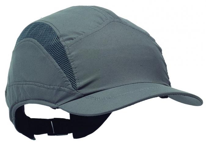 Čepice se skořepinou PROTECTOR FB3 CLASIC náhradní potah zkrácený kšilt šedá