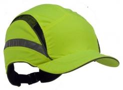 Náhradní potah na čepici se skořepinou PROTECTOR FB3 CLASIC zkrácená délka kšiltu výstražně žlutá