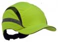 Čepice se skořepinou PROTECTOR FB3 HV náhradní potah zkrácený štítek výstražně žlutá