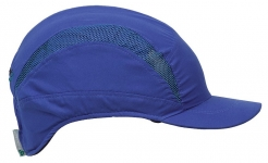 Náhradní potah na čepici se skořepinou PROTECTOR FB3 CLASIC zkrácená délka kšiltu královská modrá