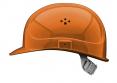Ochranná přilba PROTECTOR STYLE 300 ELITE ventilovaná látkový kříž svítivě oranžová
