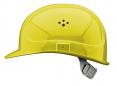Ochranná přilba PROTECTOR STYLE 300 ELITE ventilovaná látkový kříž svítivě žlutá