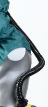 Pryžová dýchací hadice kukla SCOTT PROCAP černá