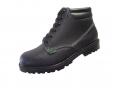 Pracovní obuv WIBRAM LUX celokožená protiskluzný dezén kotníčková černá velikost 46
