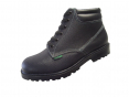Pracovní obuv WIBRAM LUX celokožená protiskluzný dezén kotníčková černá velikost 43