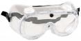 Brýle PW21 uzavřené ochranné polykarbonátový zorník nepřímo větrané čiré
