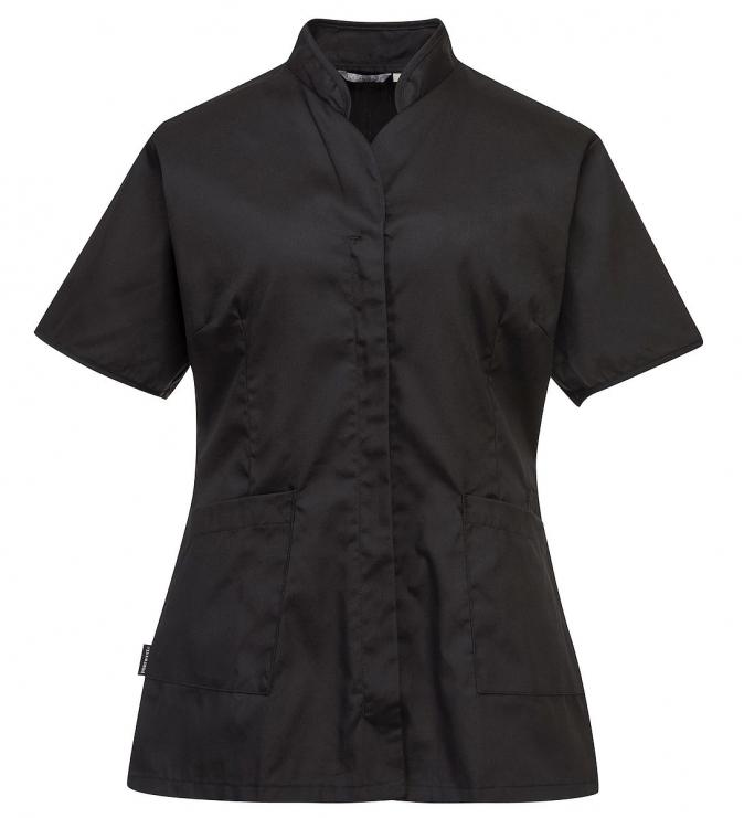 Dámská tunika Premier krátký rukáv černá velikost L