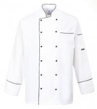 Kuchařský rondon CAMBRIDGE CHEFS dvouřadý dlouhý rukáv bílý velikost XL