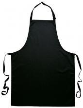 Zástěra Gastro Klasik laclová 72 x 95 cm černá