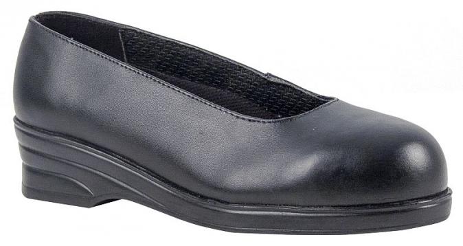 Obuv Steelite™ Ladies Court S1P dámská lodička černá velikost 38