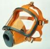 Celoobličejová maska SCOTT SARI skleněný vrstvený zorník TRIPLEX silikonová lícnice žlutá