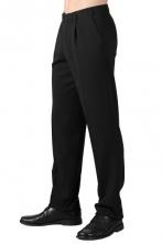 Kalhoty EVŽEN pánské společenské černé velikost 52