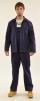 Montérkový komplet STANDARD blůza a kalhoty s laclem tmavě modrý velikost 50