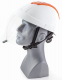 Elektrikářská přilba ELEMAN 4 se zasouvacím ochranným štítem proti elektrickému oblouku bílá
