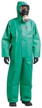 Ochranná kombinéza Northylon H EWA chemicky odolná PVC/nylon zelená