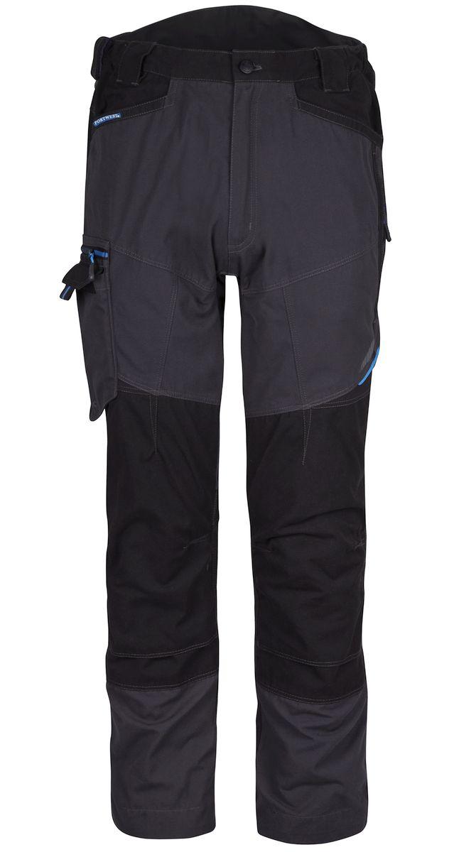Kvalitní pracovní kalhoty Snickers XTR Canvas+ přídavné kapsy Cordura černé velikost 46
