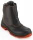 Slévačská obuv ATNA S3 HI-3 HRO WG SRC kompositové bezpečnostní prvky černo/oranžová
