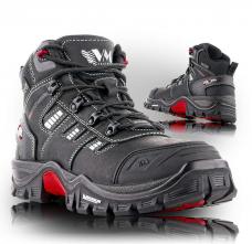 Pracovní kotníková obuv Prabos EMIL NYXX O1 FO SRC černá velikost 45