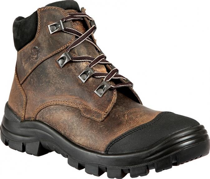 Pracovní kotníková obuv Prabos FARM B Exclusive O1 SRC hnědá velikost 41