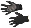 Rukavice A120 bezešvý nylonový úplet povrstvený polyuretanem černé velikost S