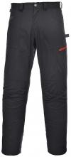 Montérkové kalhoty TEXO SPORT Danube do pasu černé velikost XL
