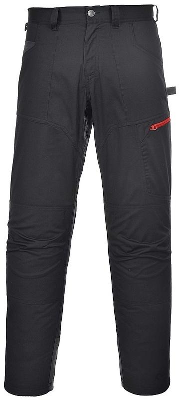 Montérkové kalhoty TEXO SPORT Danube do pasu černé velikost XXXL