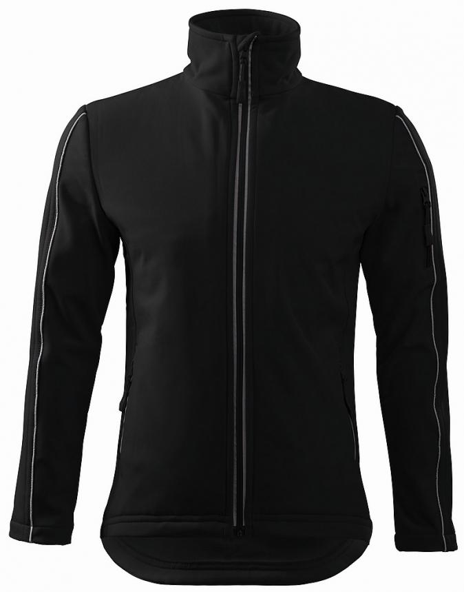 Bunda Softshell Jacket pánská černá velikost L