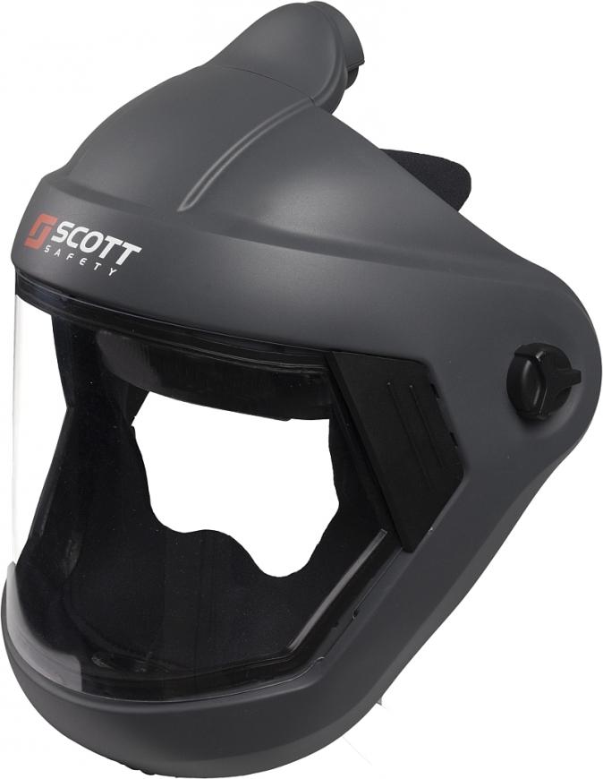 Kukla dýchací SCOTT Flowhood 3 celoobličejový ventilovaný štít