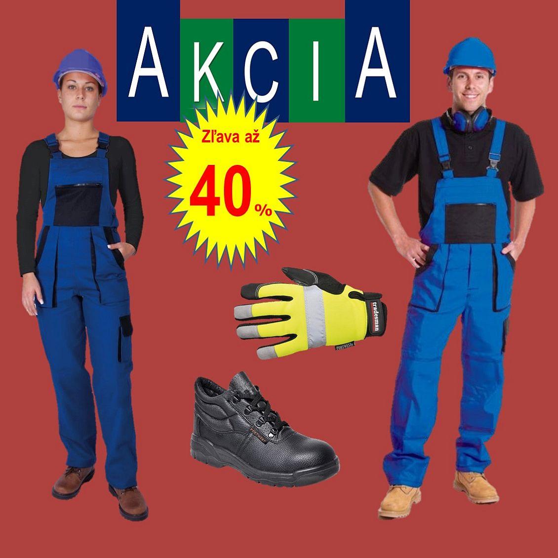 Takos® - Jesenné zľavy až 40 % na pracovné odevy a ochranné pracovné prostriedky