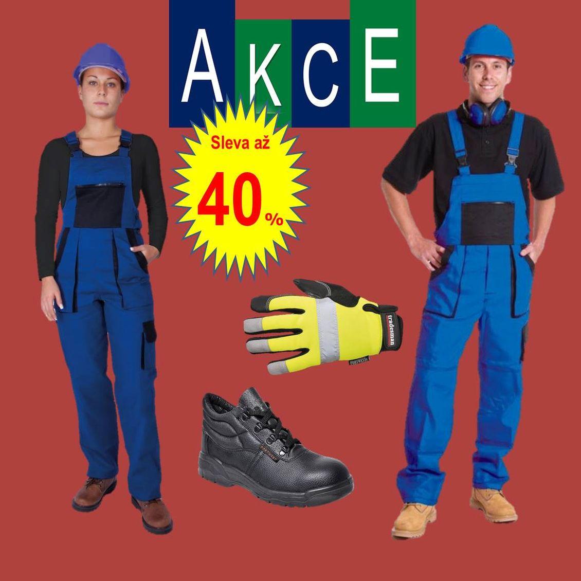 Takos® - Podzimní sleva až 40 % na pracovní oděvy a ochranné pracovní prostředky